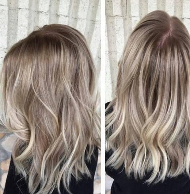 Балаяж на короткие волосы