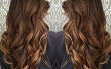 Балаяж на русые волосы: фото, виды и технология окрашивания