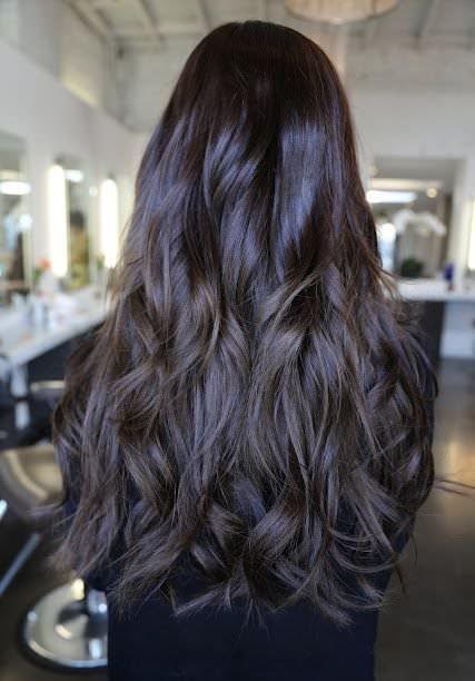 Цвет волос для брюнеток