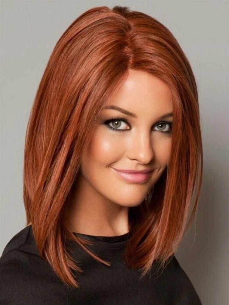 Цвет волос для рыжих