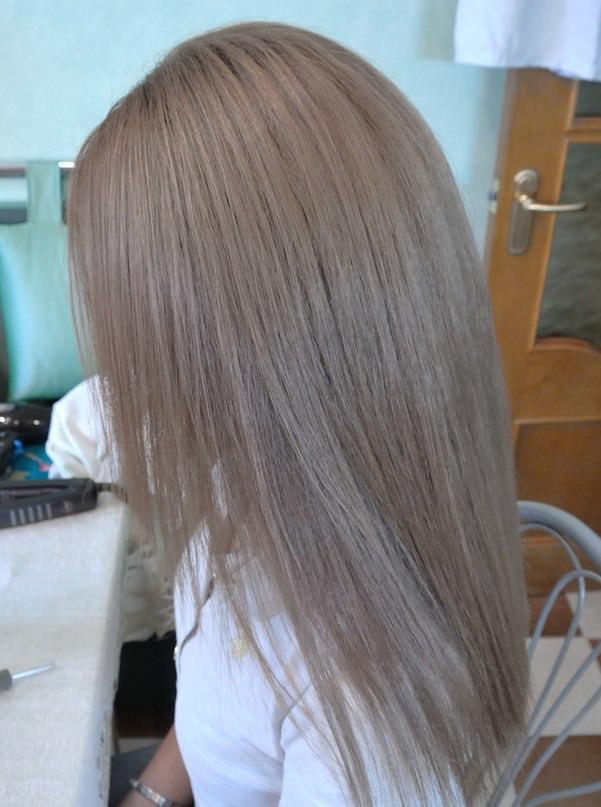 фото пепельный шатен цвет волос