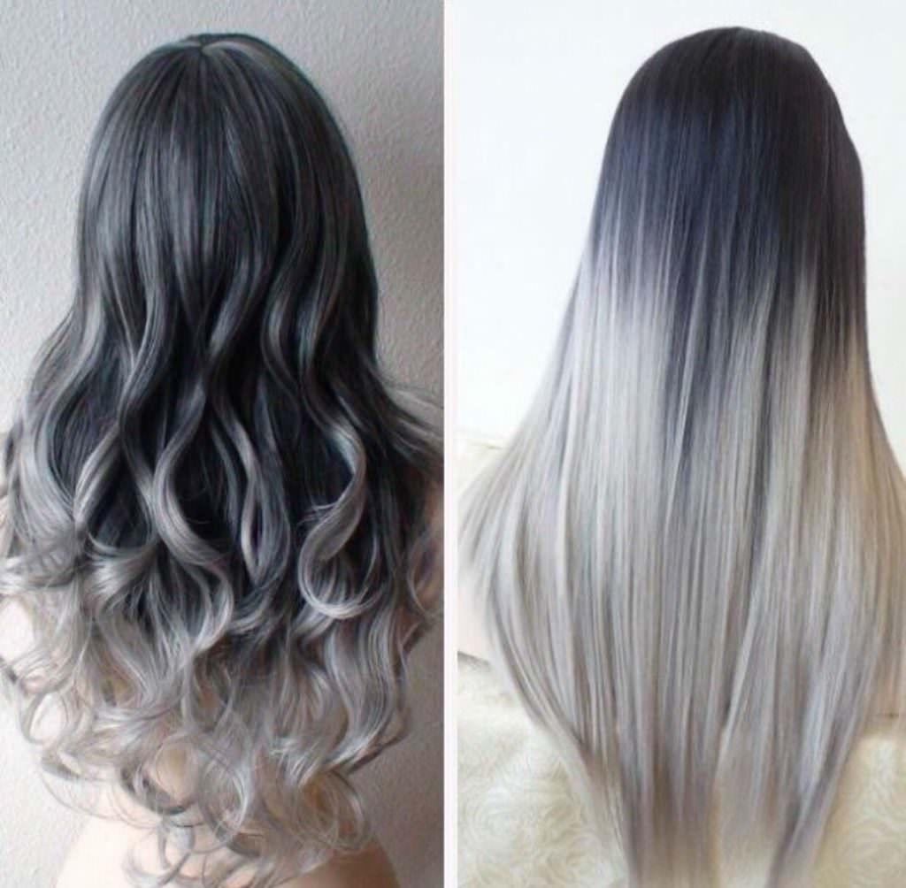 Краска серого цвета для волос