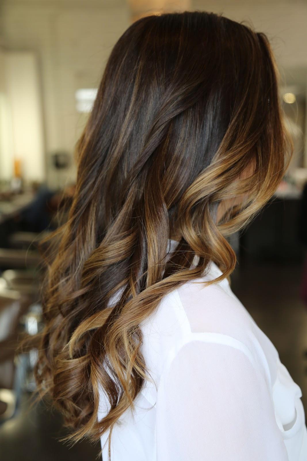 Окрашивание типа выгоревших волос