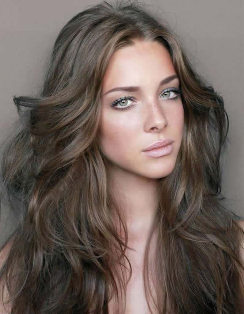 Русые волосы: все цвета, оттенки, мелирование (50 фото).