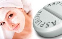 Маска для лица с аспирином — рецепты, применение и отзывы