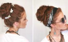 6 способов сделать шишку из волос