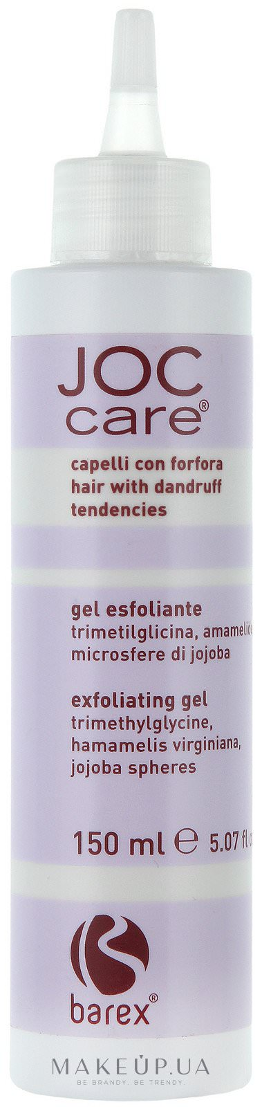 BarexExfoliating gel Joc Care