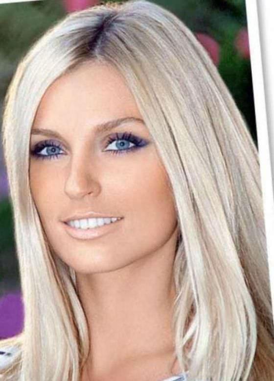 Красивые цвет волос блонд