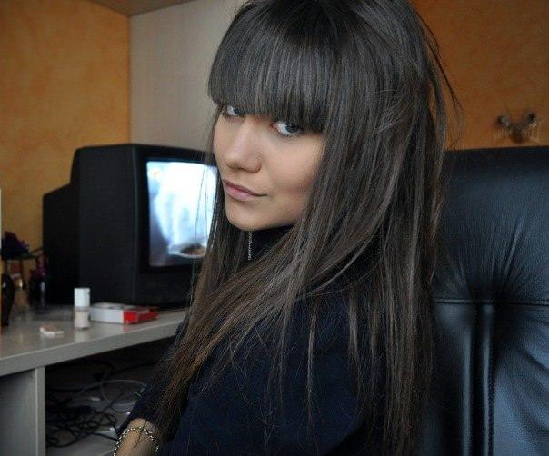 Графитовый цвет волос