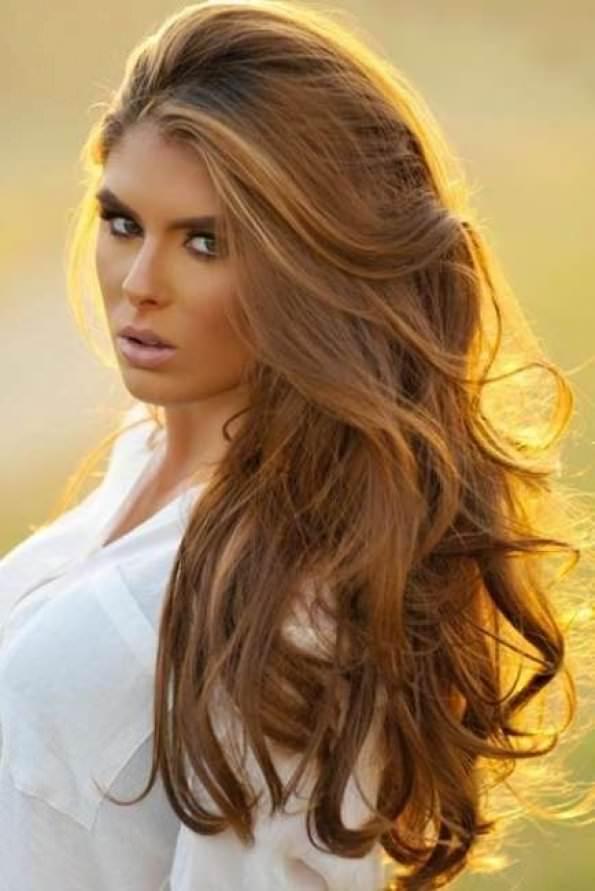 Медовый цвет волос