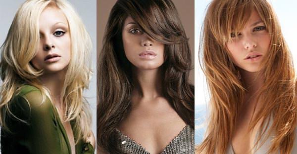 Модные женские стрижки каскад на длинные волосы