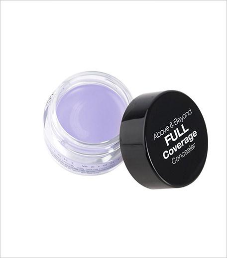 Фиолетовый или лавандовый консилер