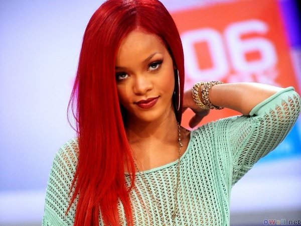 Красные волосы