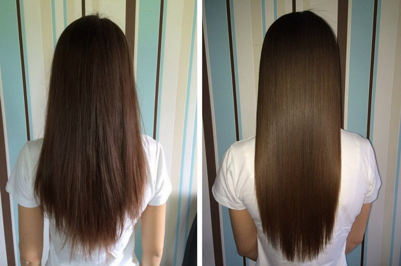 Ламинирование волос - до и после процедуры