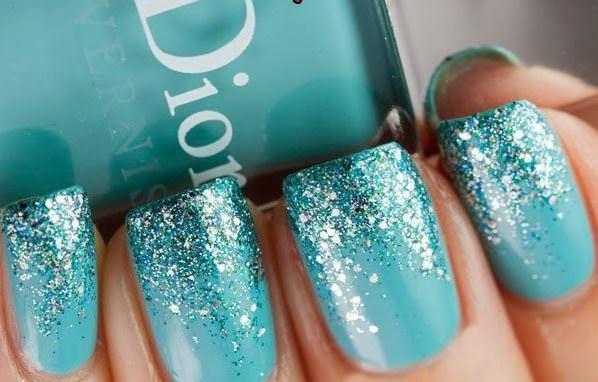 Лак Dior с блестками
