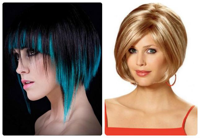 Мелирование волос модный цвет 2017 на короткие 133