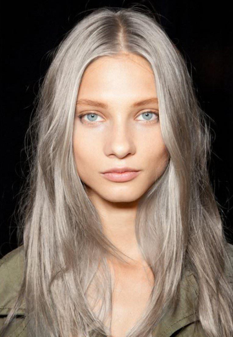 Пепельно-русые волосы