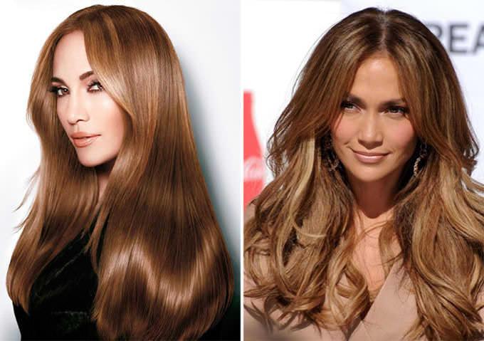 Шоколадный цвет волос оттенки кому идет