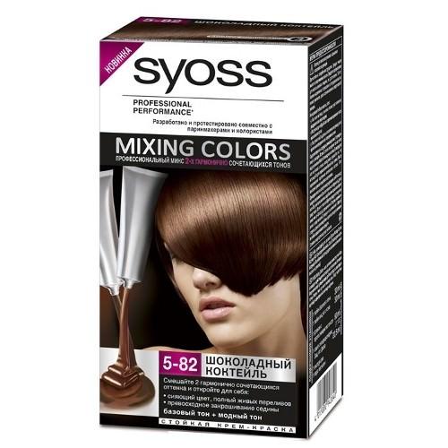 SyossMixing Colors 5/82 шоколадный коктейль