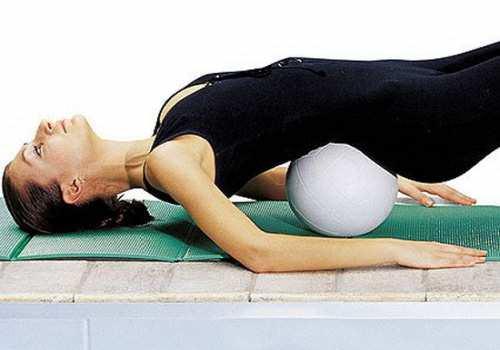 Упражнения для грудного отдела хребта