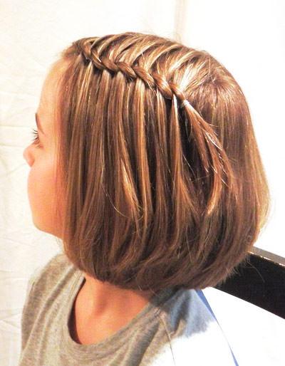 Прическа на каждый день на короткие волосы за 5 минут