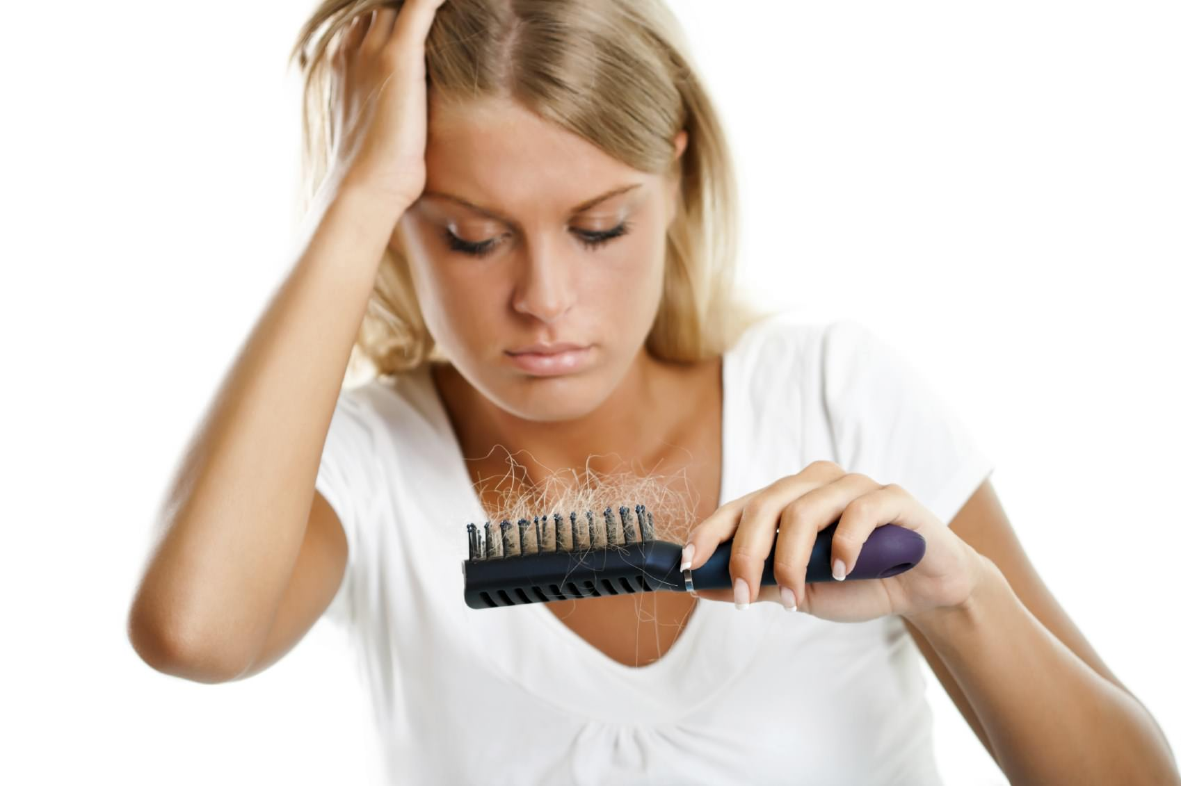 Как уменьшить выпадение волос в домашних условиях