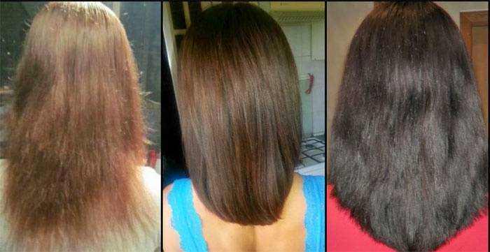 До и после применения