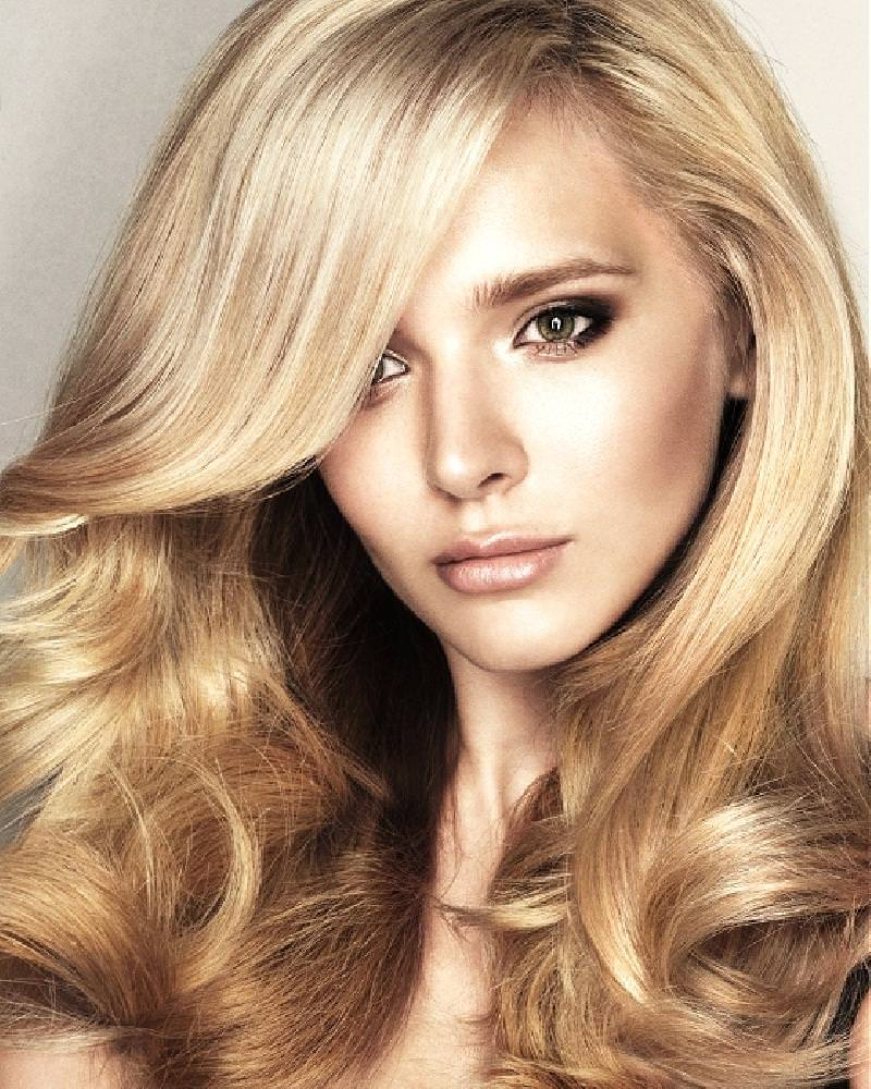 Цвет волос для блондинок
