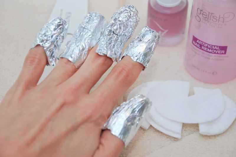 Как снять гель лак в домашних условиях, как и чем снять гель лак с ногтей дома