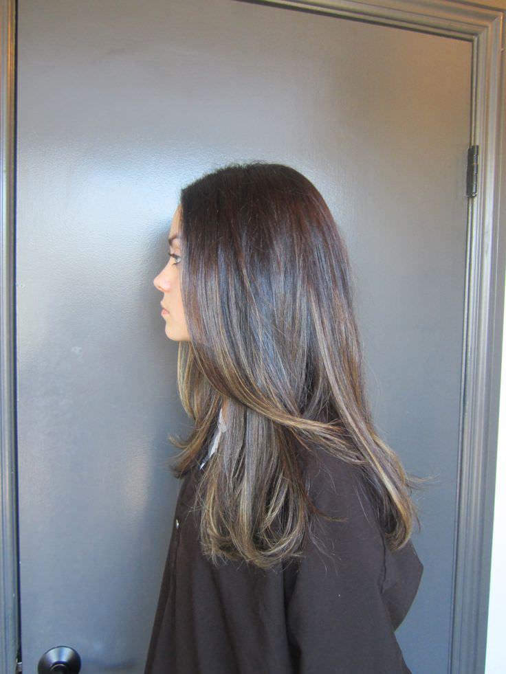 Тёмно-русый цвет волос