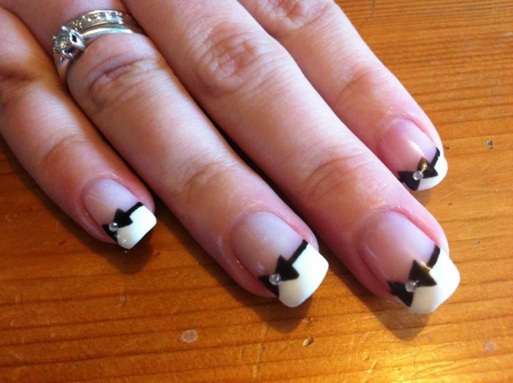 Рисунки для ногтей для начинающих