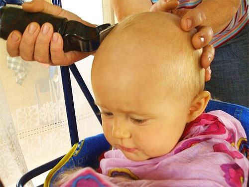 Сбривание волос