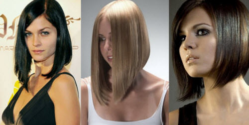 Боб-каре на различную длину волос