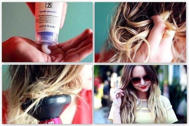 Инструкция по укладке волос с использованием диффузора