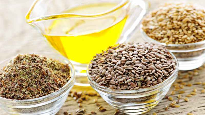 Ванночка из льняного семени и миндального масла