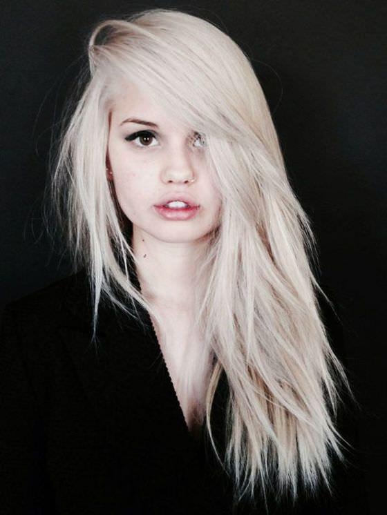 Холодные оттенки волос