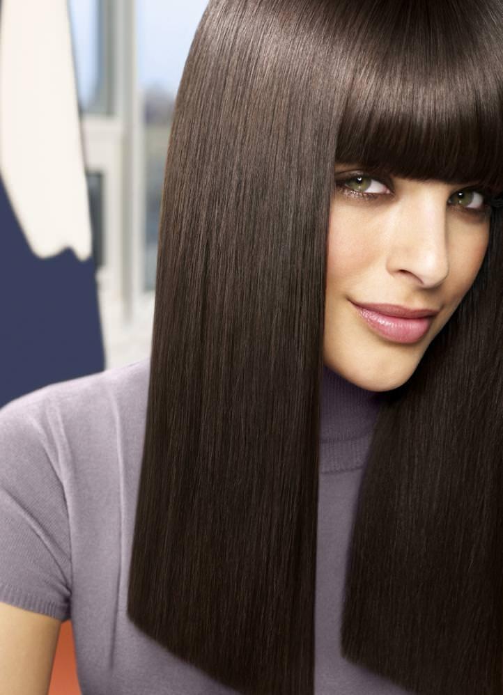 Морозный цвет волос