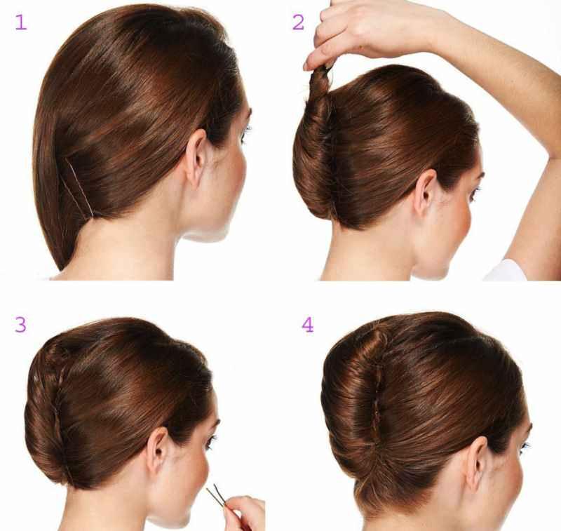 Ракушка из волос