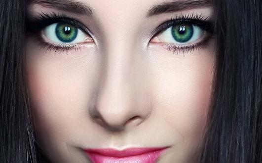 Макияж для темно-зеленых глаз
