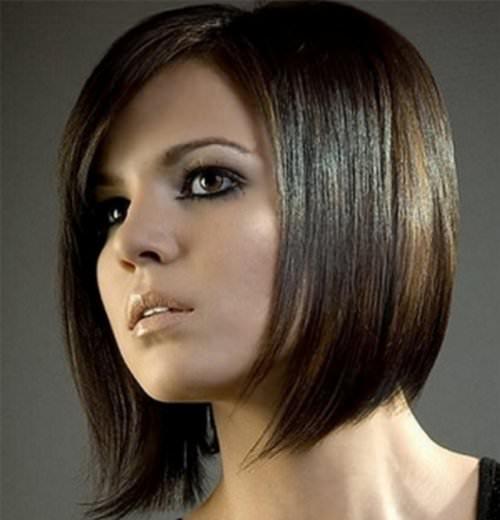 Мелирование на черные короткие волосы