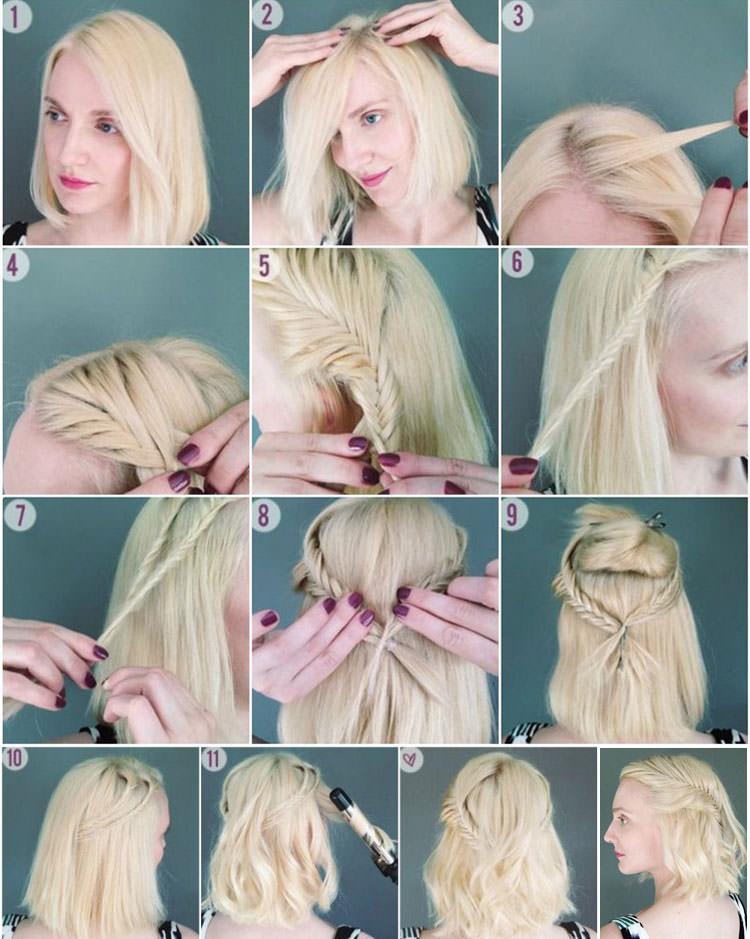 Короткую стрижку нужно каждый день укладывать, чтобы волосы не торчали в разные стороны.