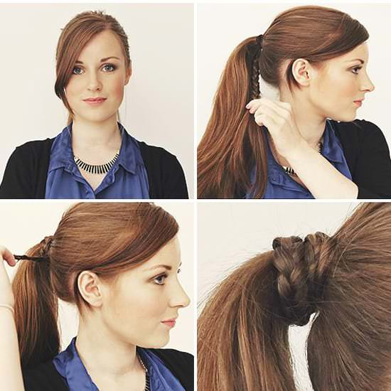 Хвост + коса
