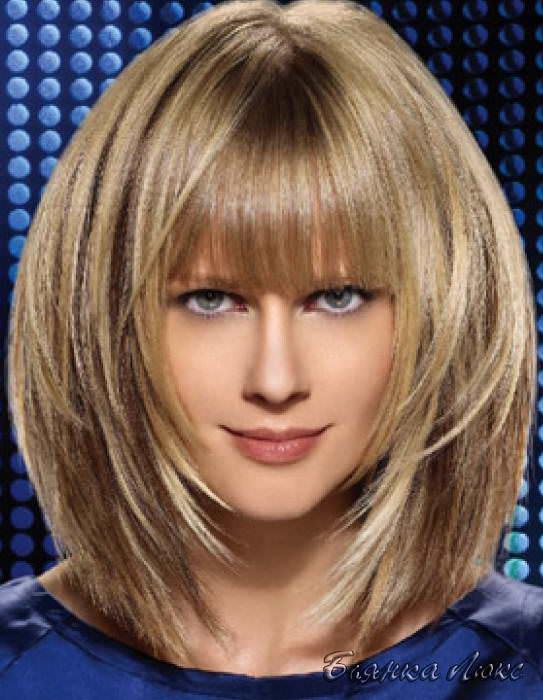 Классическое - на светло-русые волосы