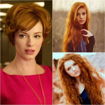 Рыжий цвет волос