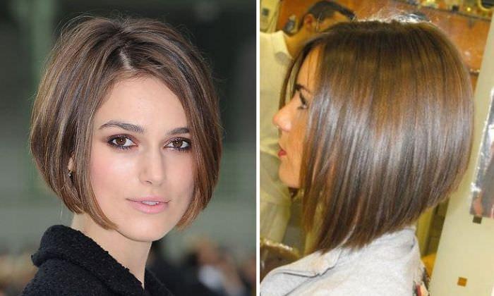 Стрижки для коротких и тонких волос без челки