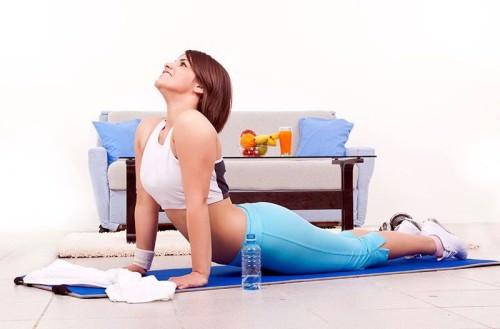 Упражнение для укрепления спины