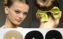 Прически с использованием валика для волос